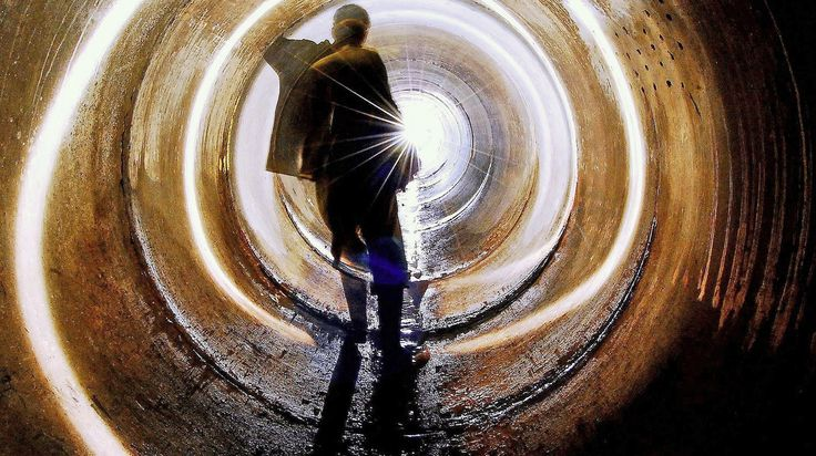 The light at the end of a dark tunnel