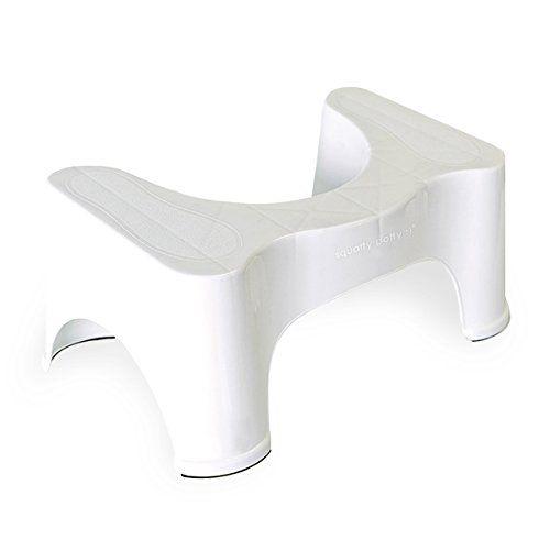 """Squatty Potty The Original Bathroom Toilet Stool 7""""- White Squatty Potty http://www.amazon.com/dp/B00ESKVN7W/ref=cm_sw_r_pi_dp_pWM7wb02W7W0G"""