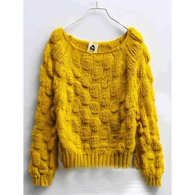 Sweet Candy Color Classic Knit Circular Pattern Short Sweater - Sweaters - Sweaters & Knits - Clothing - Women's Style Free Shipping