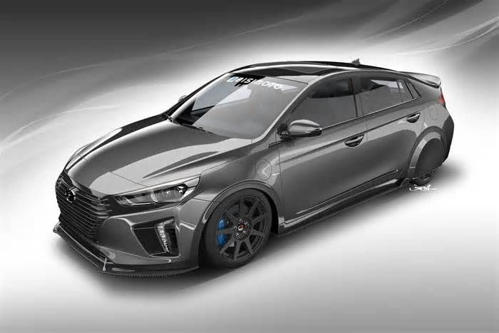 Hyundai Ioniq concept will teach the SEMA crowd about fuel efficiency It's hot rods, muscle cars, and tricked-out trucks galore. Hyundai is joining the excitement this year by bringing several one-off models and concept cars, including a super-efficient super-hybrid named HyperEconiq Ioniq. The design study is based on ...