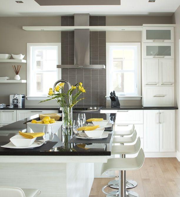 17 meilleures id es propos de hotte decorative ilot sur for Amenagement armoire cuisine