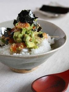 Looks similar to Foodland in Hawai'i, California Roll Poke.
