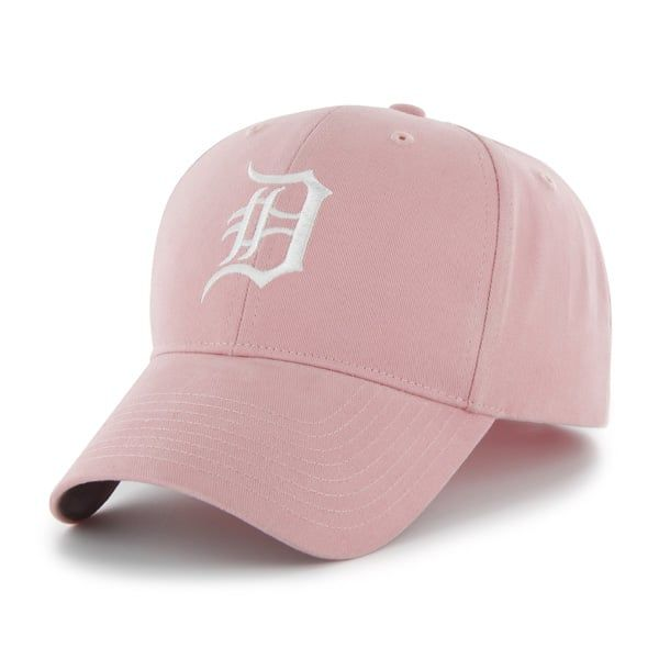 Detroit Tigers 47 Brand Pink Girls TODDLER Adjustable Hat