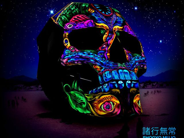 3D, 360º Projection Mapped Skull for Burning Man 2014 by Veronique Pittman — Kickstarter