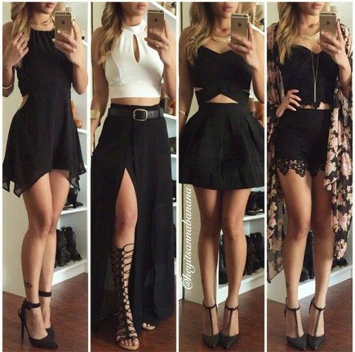 El negro también es un básico. ¿cuál de todos los estilos es tu favorito?