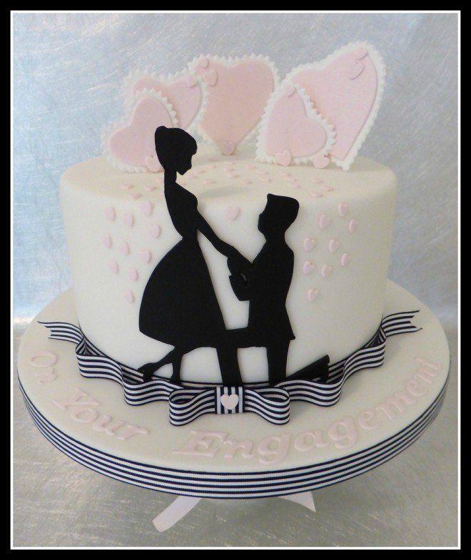 Andrea Cabral sugestão - bolo-  noivado - casamento - wedding cake - engagement cake121
