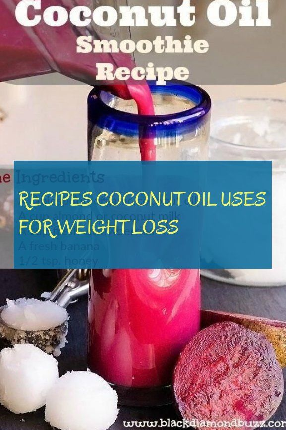 Smoothies mit Kokosöl zur Gewichtsreduktion