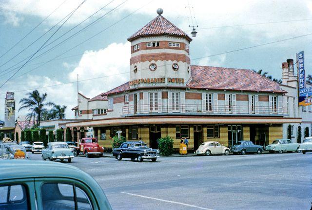 Surfers Paradise Hotel, Gold Coast, Australia, 1960