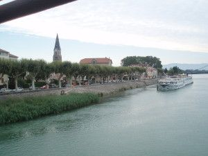 Tournon, France on Uniworld River cruise