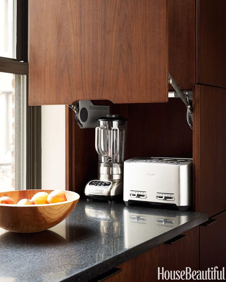 Sleek Appliance Garage: 43 Best Kitchen Images On Pinterest