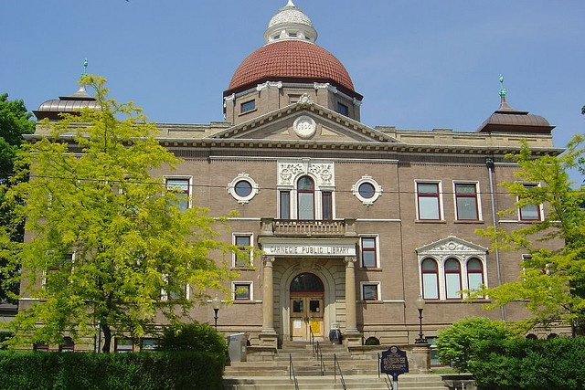 The Carnegie Public Library, East Liverpool, OH