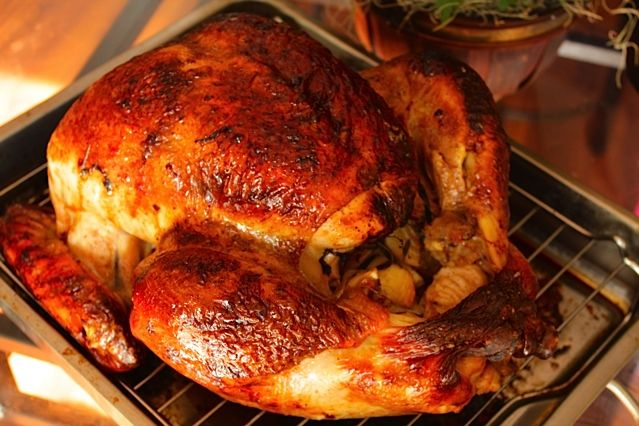 """My """"I Challenge ALL Claims to the Ultimate Brine"""" Turkey Brine. I've always claimed to roast the best turkey in the world but with this brine; I'm totally right.  Modest-shmodest; you have to try this recipe, it's insane!"""