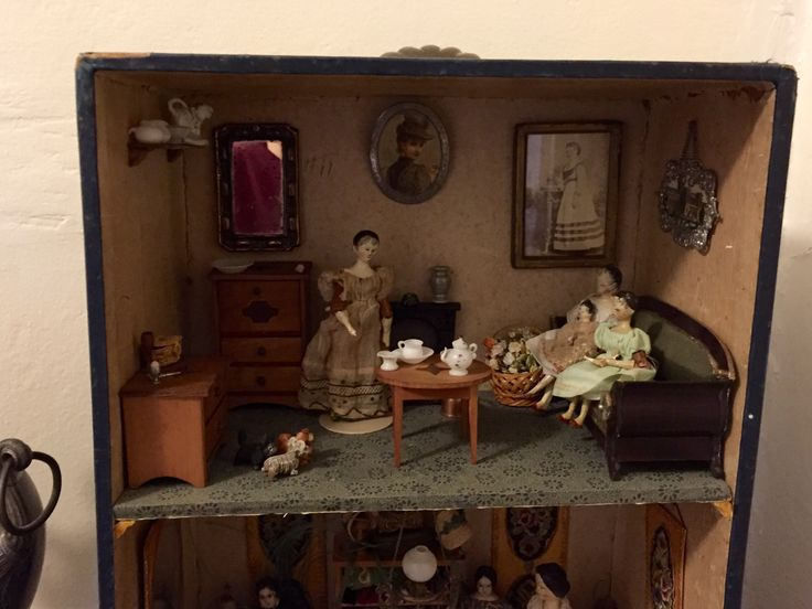 400 best Dolls House Rooms Shops images on Pinterest Dollhouses