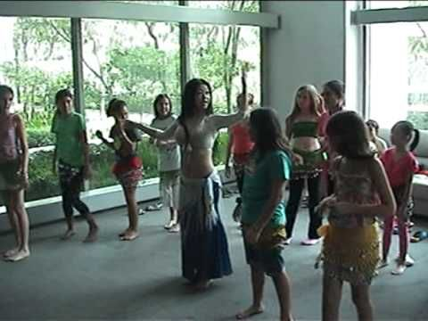 International Teens, Children, Kids Belly Dance Workshop by My Belly Dan...