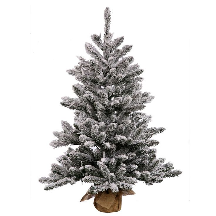 shop online for this high end 42 inch flocked anoka pine tabletop tree artificial christmas tree - Christmas Tree Shop Online