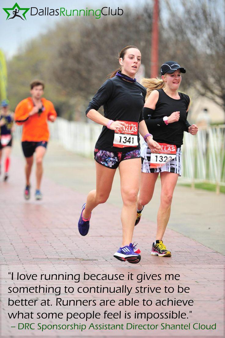 Drc Sponsorship Assistant Director Shantel Cloud Tells Us Why She Runs Running Running Club Sponsorship
