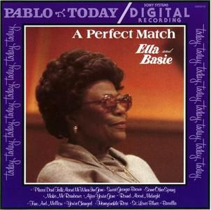 Ella Fitzgerald & Count Basie - A Perfect Match (1979)      Ella Fitzgerald & Count Basie - A Perfect Match (1979)  EAC Rip   FLAC (image+.cue+log) - 276 MB   MP3 CBR 320 kbps (LAME 3.93) - 118 MB   Covers (8 MB) included  Genre: Vocal Jazz   RAR 3% Rec.   Label: Pablo (00025218011020)    Although Count Basie gets cobilling with Ella Fitzgerald on this concert recording from the 1979 Montreux Jazz Festival, the…