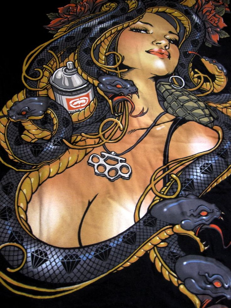 Hispanic Medusa Picture, Hispanic Medusa Image