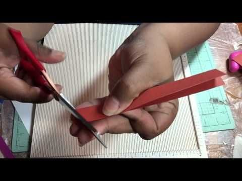 DIY 6x9 envelope tutorial (vertical) - no punch board needed! - YouTube