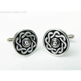 Scottish Targe Shield Cufflinks - Imported directly from the maker in Scotland these cufflinks are timeless.  If you enjoy wearing the kilt or want something that is different then look no further.