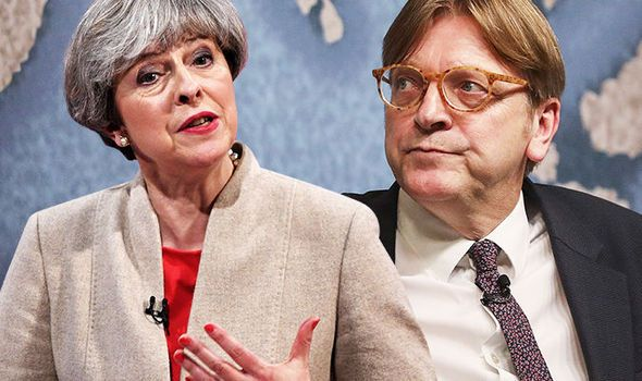 Theresa May's Brexit intervention- Guy Verhofstadt warns PM to make speech DELAYING talks