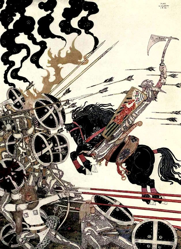 Kay Nielsen love the limited palette