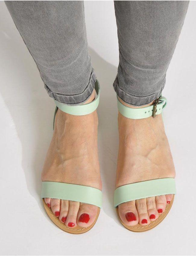 Sandales Pieces, 40 € sur Sarenza.com