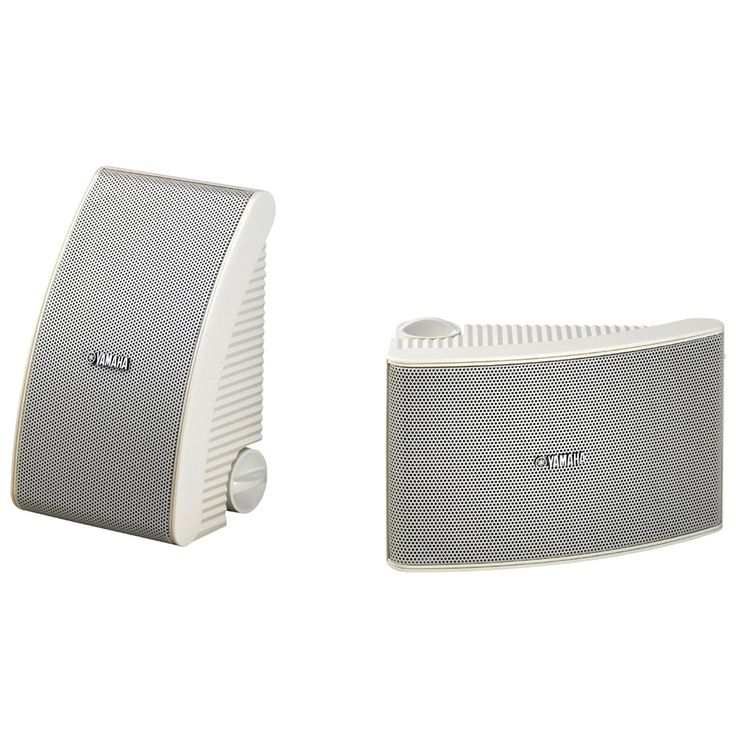 Yamaha Pair of white 40W all-weather outdoor speakers. #yamaha #weather #outdoor #speakers #AtlanticElectrics