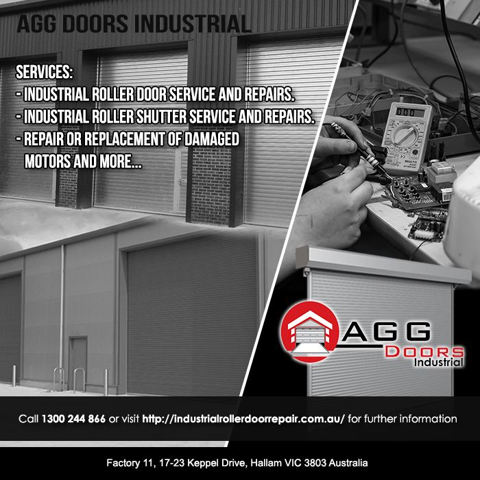 For any repairs and replacement of damaged motors, call AGG Doors Industrial for futher information. Its 1300 244 866!   #industrialrollerdoorrepair #industrialdoorrepair #commercialrollershutterrepair #rollershutterrepairsMelbourne #commercialrollerdoorrepair