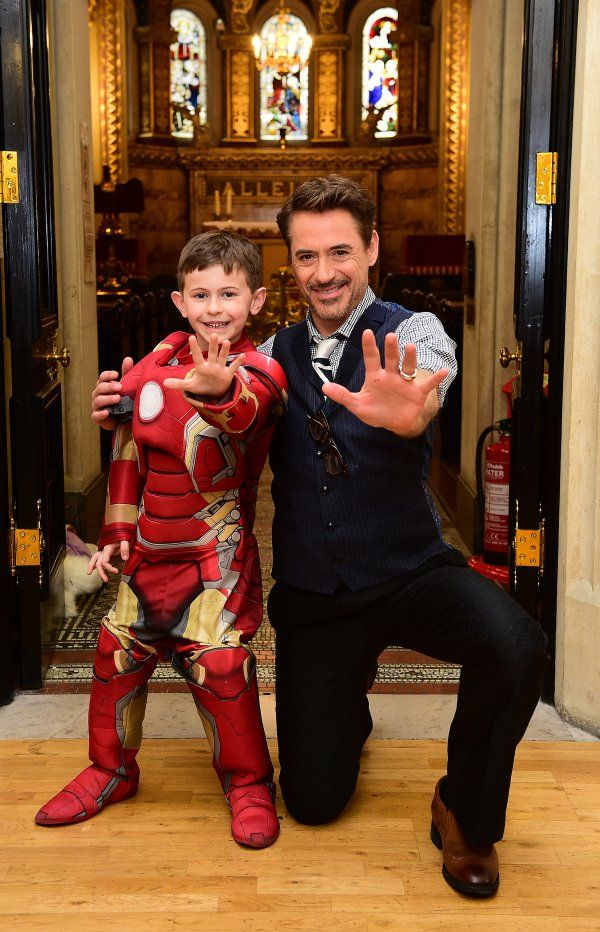 Robert Downey Jr. Visited A Children's Hospital And Awesomeness Ensued