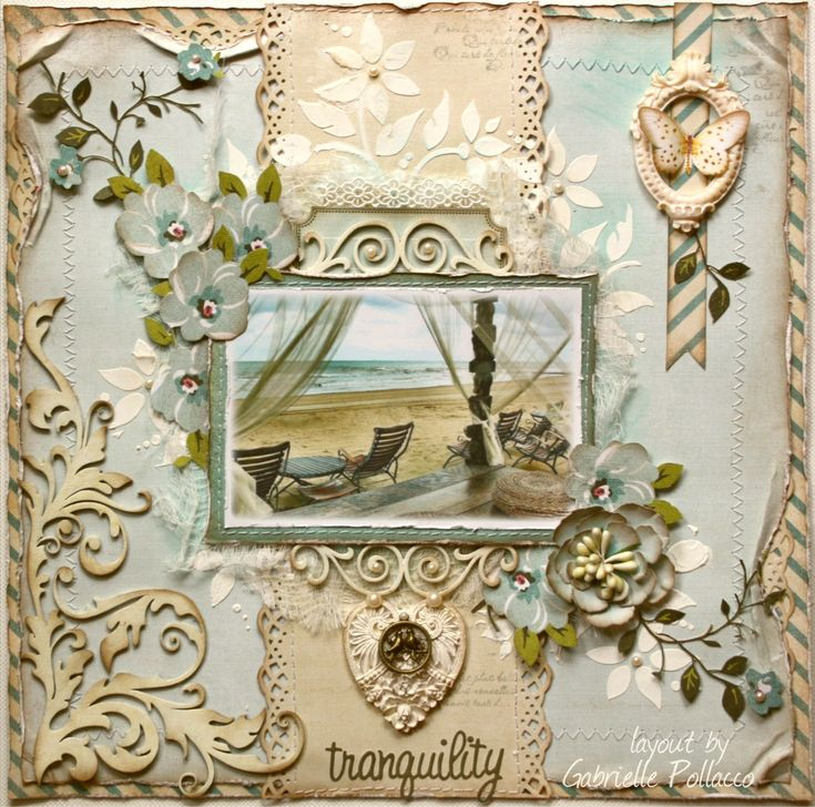"""Tranquil **NEW Websters Pages """"Plum Seed""""** - Scrapbook.com by Gabriellep"""