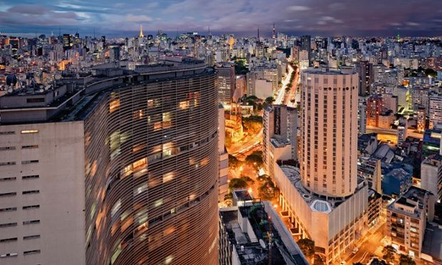 Edificio Copan, Sao Paulo, by Oscar Niemeyer