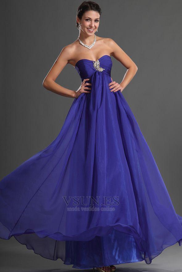 62 best Moda Vestidos images on Pinterest | Evening gowns, Formal ...