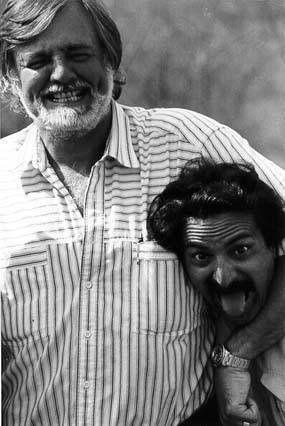 George Romero and Tom Savini