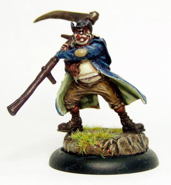 Malifaux Resurrectionists - Mortimer the Gravedigger
