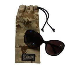 Vision is our new camo Sunglasses case. You can pick any camo you desire and the drawstring creates an easy access. Enjoy!