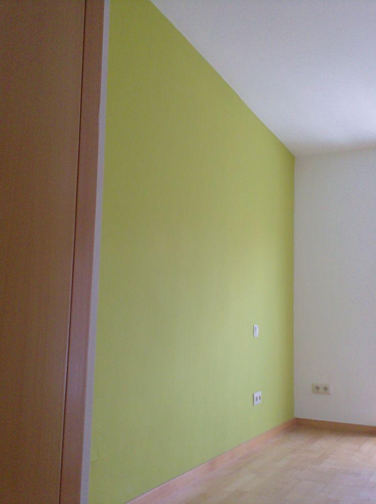 Pintura decoraci n dos colores decoracion paredes - Pintura decorativa paredes ...