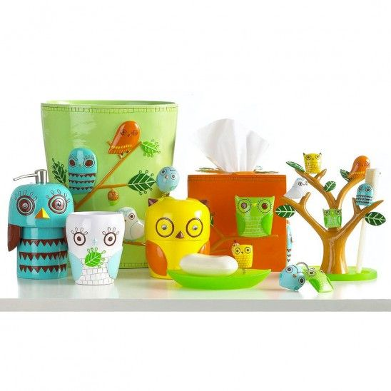Give A Hoot Bath Collection