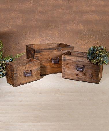 Garden Nesting Box Set