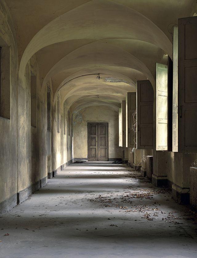 Les plus beaux lieux abandonnés dans le monde : Hôpital psychiatrique, Italie.