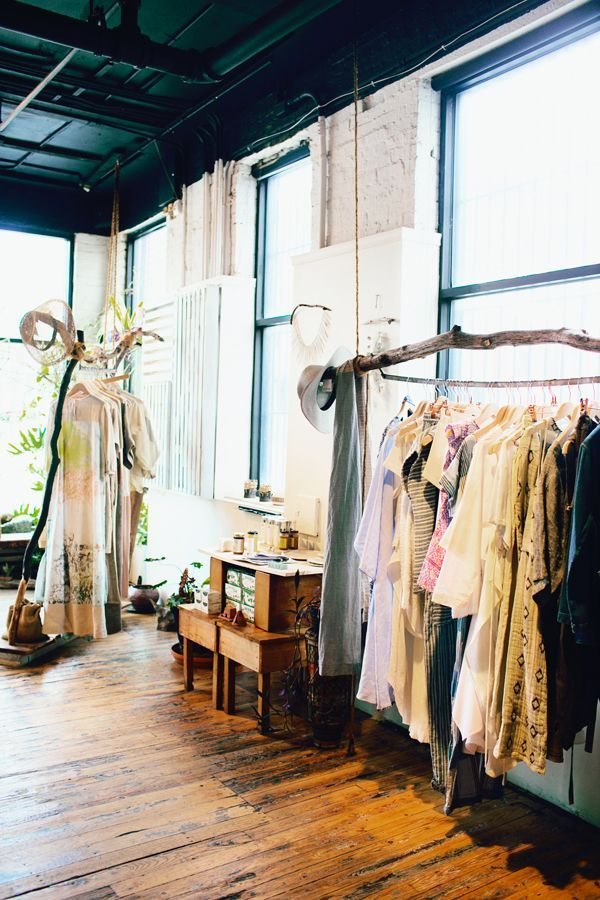 "Decor Tips From 5 Beautiful NYC Store Interiors #refinery29  http://www.refinery29.com/store-interiors-home-tips#slide-9  5. Beautiful Dreamers  When it comes to design, this Wythe Avenue shop in Williamsburg takes its cues from California. ""It was about bringing nature to an urban environment,"" says co-owner April Hughes. ""I didn't want to create a clothing store that you pop into quickly just to buy s..."