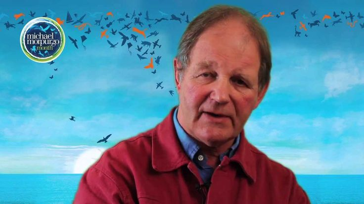 Morpurgo discussing the theme of animals in his books.