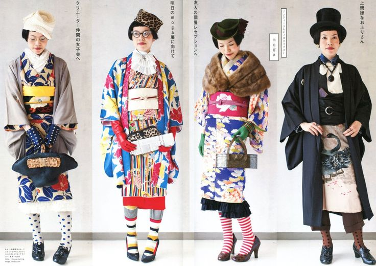 Your typicalJapanese clubhussymight behappy to seekimono-wearing go the way of ballroom dancing and tea ceremony, buta growing number of hip young women areadopting the techniques ofalt fash...