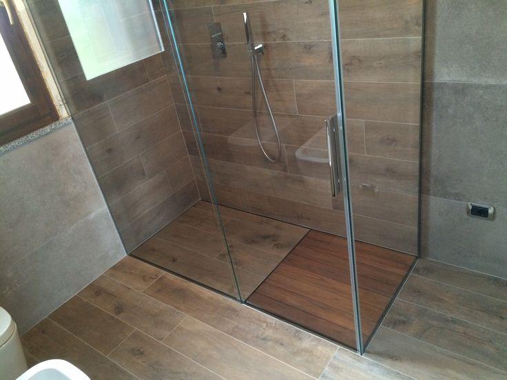 Piatto doccia filo pavimento p dreno su misura rettangolare pentagonale curvo doccia design - Box doccia pentagonale ...