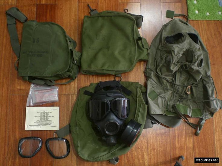 M40 Gas Mask | Genuine issue US M40 Chemical-biological mask