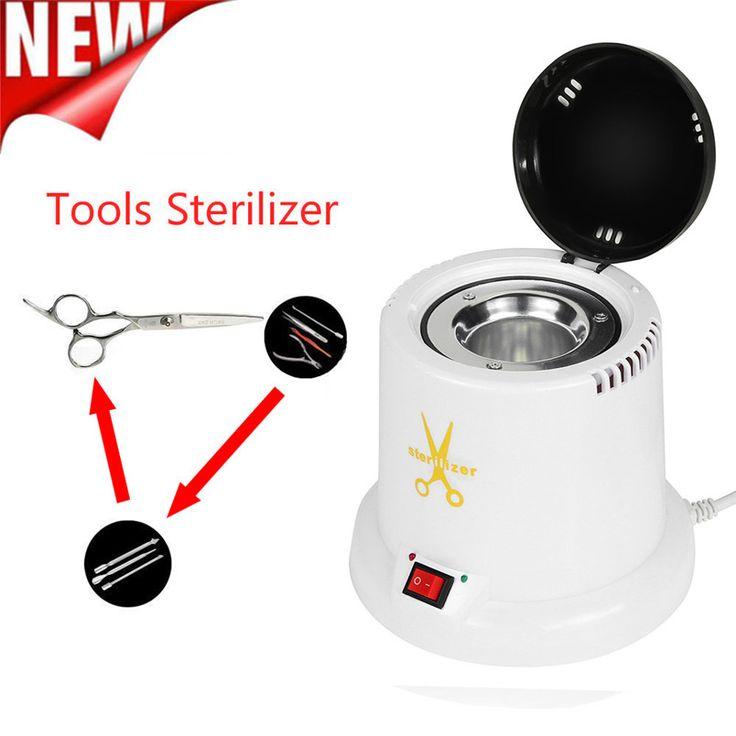 1PCS Nail Art Tools Sterilizer High Temperature Disinfect Tattoo Clean Machine Nail Equipment Free Shipping with EU Plug F14   #Affiliate