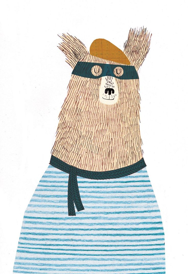 Kate Hindley is also so good! I'm in love with this bear!