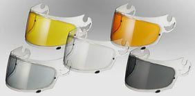 Ecran Antibuée Pinlock pour visière de casque intégral Arai / Plusieurs Couleurs
