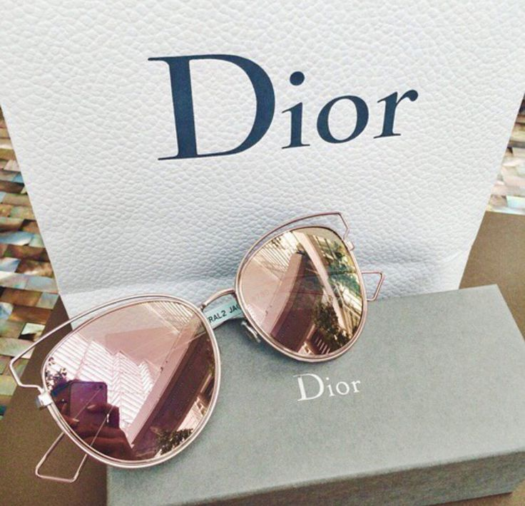 {Dior 'Sideral 2' Sunglasses - Rose Gold}