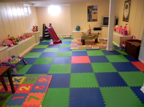 Playroom flooring from diy inspiration for Playroom floor ideas